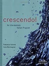 Crescendo!: An Intermediate Italian Program with Text Audio CD