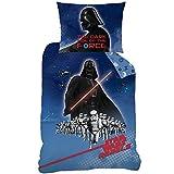 Star Wars 045135Menace–Juego de cama, algodón, multicolor, 140 x 200 cm