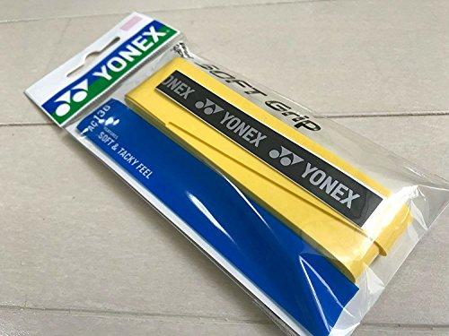Yonex Japan 0,8mm Nass super Soft Grip AC136gelb (yac136y004F) Badminton Tennis