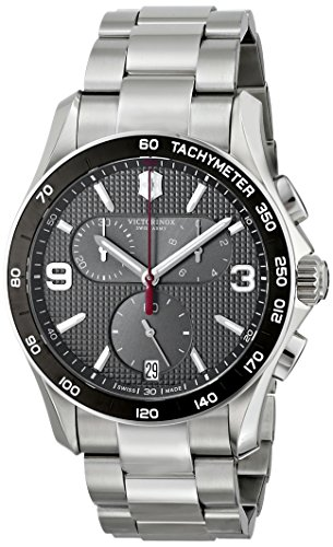 Victorinox Men's 241656 Chrono Classic Stainless Steel Chronograph Watch