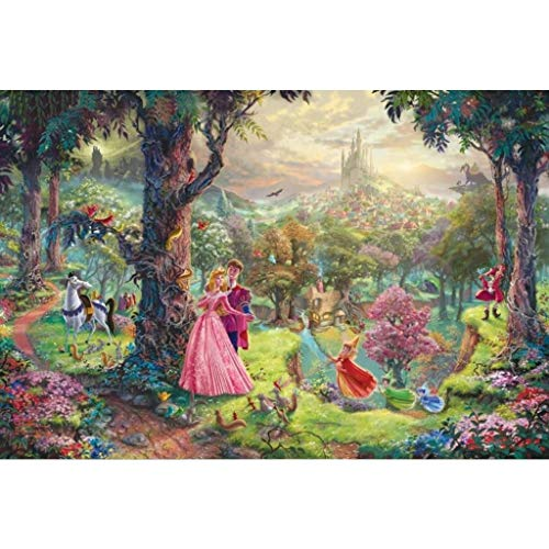 Smklcm Creative Perfect Classic Fairytale houten puzzel, kikker prins Prinses Beast Peter Pan Cartoon Schilderen Perfect Boxed speelgoed spel for volwassenen & Kids (Color : I, Size : 300pc)