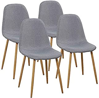 VECELO Dining Chairs for Kitchen/Dining/Living/Lounge...