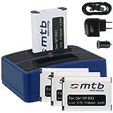 4X Baterías + Cargador Doble (USB/Coche/Corriente) para Sony NP-BX1 / Sony Action CAM HDR-AS10, AS15, AS20, AS30(V), AS100V, AS200V / FDR-X1000V. v. Lista