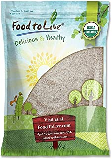 Organic Psyllium Husk Powder, 10 Pounds - Non-GMO, Kosher, Ultra Fine, Unsweetened, Unflavored, Rich in Fiber, Natural Foo...