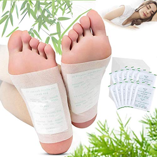 Fencia® 100 Foot Patches Natural Detox Foot Pads Patch Detoxify Toxins Pain Relief Foot Care Relax Health Care Remove…