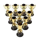 Xiuinserty - Trofeo con coppe dorate e premi educativi per bambini, 10 pezzi...