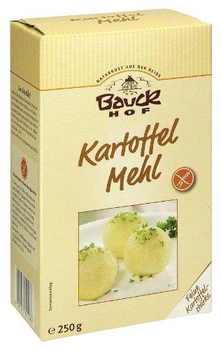 Bauckhof harina de patata (fuerza), pack 3 (3 x 250 g bolsa)...
