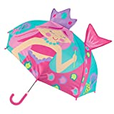 Stephen Joseph Kids Pop Up Umbrella, Pink Mermaid