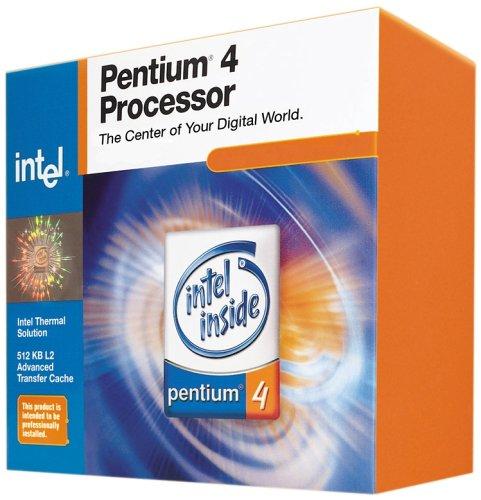 Intel Pentium 4 3.0GHZ SKT478FSB800 512KB Cache In-A-Box mit Kühler Prozessor