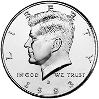 1983 d half dollar