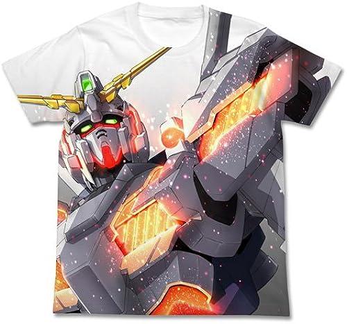 Gundam UC (Unicorn) Unicorn Gundam Full Graphic T-shirt Weiß Größe  M (japan import)