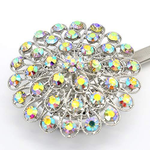 Romsion Home voor creatieve gordijn riemen gebonden touw lente magneet gordijn gesp ring riem haak gratis Punch
