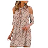 Women's Sexy Solid Color Lace Sleeve Halter Neck Strapless Dress