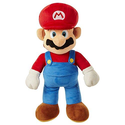 Nintendo- Super Mario Peluche Grande, Color Novedad (Jakks Pacific 64456-4L)