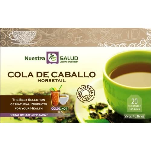 Amazon.com : Cola De Caballo - Horsetail Herbal Filtered Tea 3 Pack : Grocery & Gourmet Food