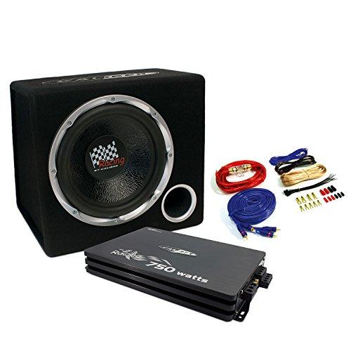 Caliber PACK12P4 - Soundpaket/Basspaket 4-Kanal Endstufe/Verstärker + 30cm Subwoofer - 750 Watt