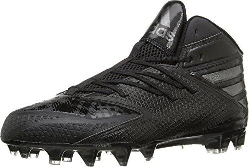 adidas Men's Freak X Carbon MID Football Shoe, White/White/Collegiate Navy, 10.5 M US