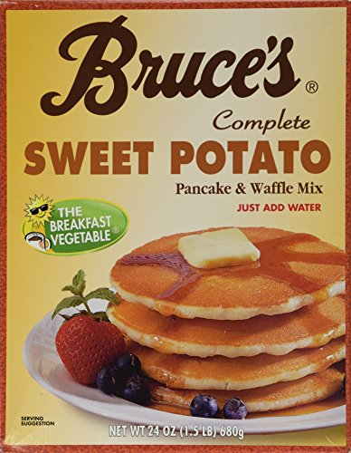 Bruces Sweet Potato Pancake and Waffle Mix