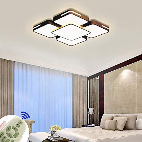 64W Lámpara de techo LED Regulable Plafon Techo Led Cuadrado Iluminación interior...