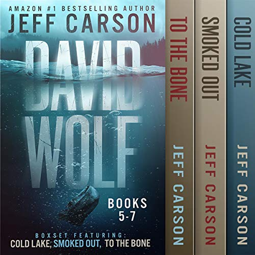 The David Wolf Mystery Thriller Series: Books 5-7 cover art