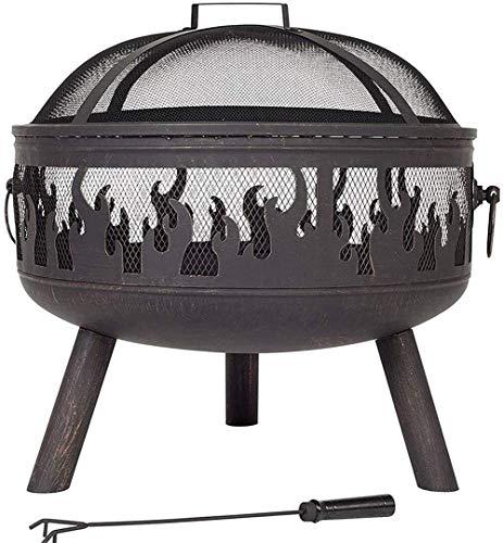 Buy Discount LCSW Sunlike Outdoor Fire Pits, Firepit Firebowl Wood Burner, Outdoor Garden Terrace He...