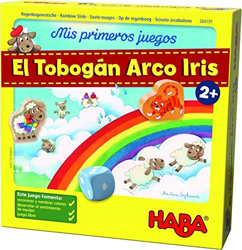 HABA Mesa, Mis Primeros Juegos. El Tobogán Arco Iris, (Habermass H304191)
