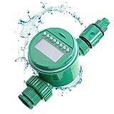 YANXS Bewässerungscomputer mit Regensensor, Bewässerungsuhr Wasserdichter LCD Bildschirm,...