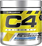 C4 Original Pre Workout Powder Icy Blue Razz| Preworkout Energy Drink Supplement |