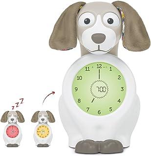Zazu Davy The Dog - Sleep Trainer Clock & Nightlight for Kids - Light Up Alarm Clock, Helps Teach Your Child When to Wake ...