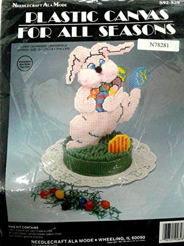 Easter Bunny On Parade Centerpiece Needlecraft Kit