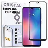 - Protector de Pantalla Curvo para XIAOMI MI 9 SE / MI9 SE, Negro, Cristal Vidrio Templado Premium, 3D / 4D / 5D