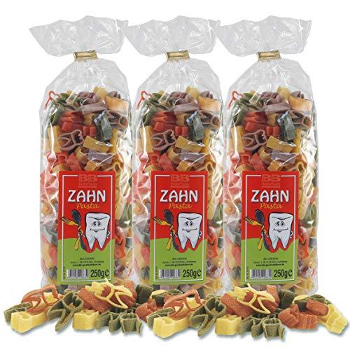 3er Set Zahn-Nudeln Pasta Al Dente