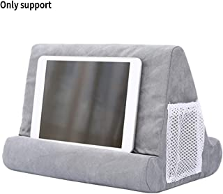 Flippy Multi-Angle Soft Pillow Lap Stand Tablet Stand Pillow Holder Used on Bed, Knee, Desk, Sofa, Floor