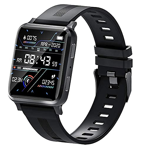 LITINGT suinsist Smart Watch con Llamada, rastreador de Actividad física con Monitor de sueño, rastreador de Actividad con Pantalla táctil HD de 1,54 Pulgadas, podómetro Impermeable IP67 con Monitor