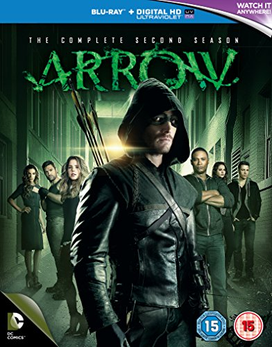 Arrow: The Complete Second Season [Edizione: Regno Unito] [Italia] [Blu-ray]