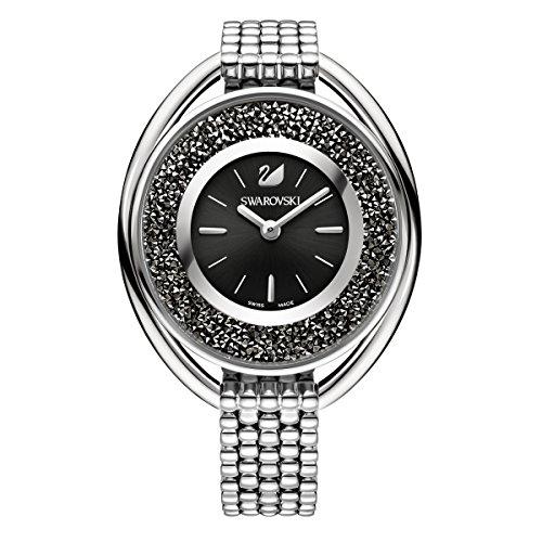 Swarovski Crystalline Oval Black Armband