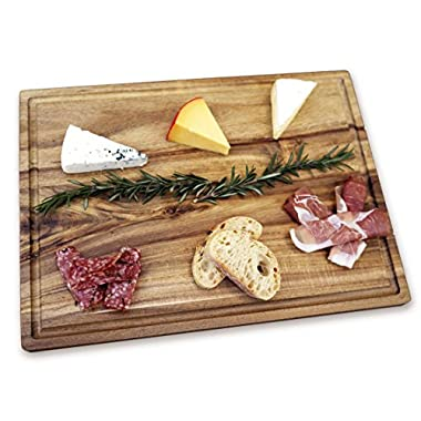 Misc Home Gourmet 14 x 10 Inch Acacia Cutting Board w/ Juice Drip Groove
