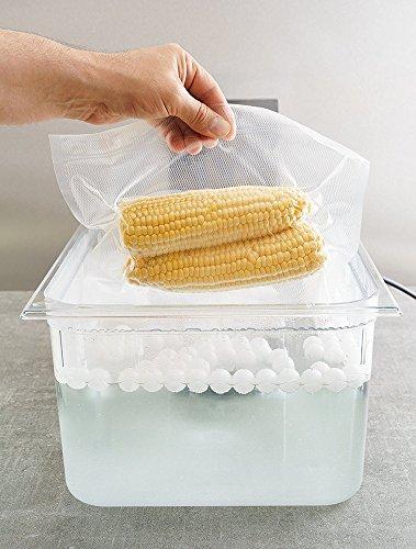 Locisne Sous Vide Kochen Bälle BPA Free 20mm 250 Bälle mit Mesh Trockentasche Für Anova Joule Herde Wasser Bad Kochen und Sous Vide Container - 4