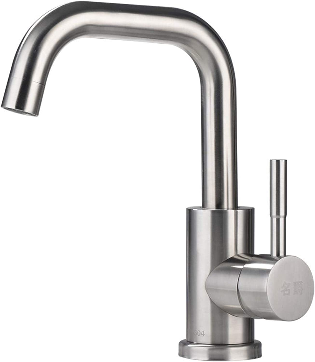 MulFaucet Faucet Water tap Taps Swivel Hoses Lead-Free 304 Stainless Steel Basin Bathroom hot and Cold