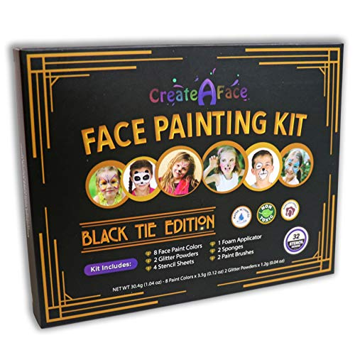 Face Painting Kit for Kids, Easy On and Off $9.99 (50% Off)