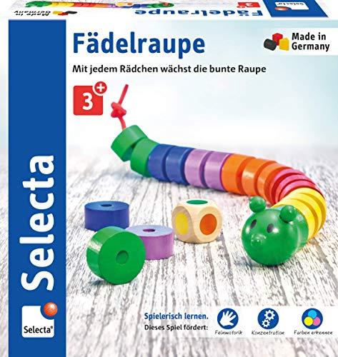 Selecta 63005 Fädelraupe, Würfel- und...