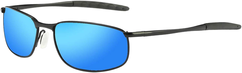 Polarized Sunglasses for Men ZHILE 8-base online shopping Fram Curve Metal Wrap Japan's largest assortment