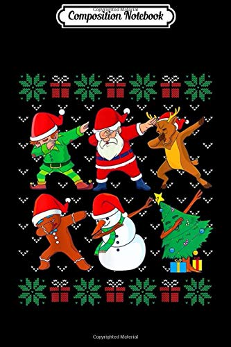 Composition Notebook: Dabbing Christmas Ugly Xmas Sweater Santa Dab Squad Kids Boy Journal/Notebook Blank Lined Ruled 6x9 100 Pages