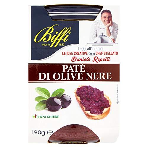 Biffi - Patè di Olive Nere 190g - Multipack (6x190g)