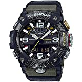 From Casio G-Shock, the innovators of tough timekeeping, comes the GGB100 Master of G Mudmaster watch series that has been designed to endure the toughest environments This watch features a carbon core guard structure case, in black with grey accents...