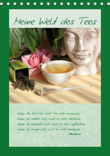 Meine Welt des Tees (Tischkalender 2021 DIN A5 hoch)