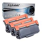 3 Toner Alphaink Compatibile con Brother TN-2320 versione da 2600 copie per stampanti Brother DCP-L2500 2520 2540 2560 2700 HL-L2300 2320 2321 2340DW 2360DW 2700DW MFC-L2701 2703 2720DW 2740DW
