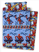 Asditex Juego sábana franela Spiderman Cama 90 cm.