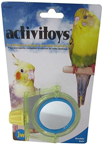JW Pet Company Activitoy Vogelspielzeug mit Doppelachsen