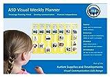 Autism Supplies & Developments EN_WP Visueller Wochenplaner aus Kunststoff
